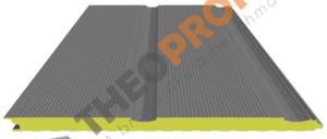 Πάνελ πολυουρεθάνης πλαγιοκάλυψης - διαμόρφωση lineaplus - Theoprofil.com