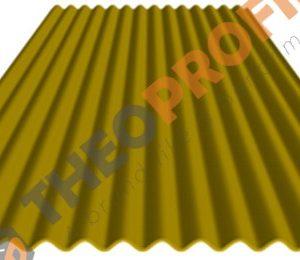 Λαμαρίνα κυματοειδής RAL 1003 - Theoprofil.com