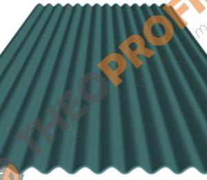 Λαμαρίνα κυματοειδής σε χρώμα RAL 5024 - Theoprofil.com