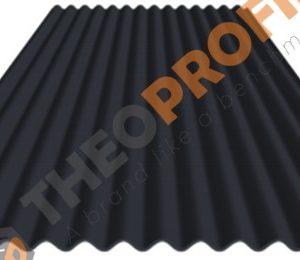Λαμαρίνα κυματοειδής πάχους 0.50mm σε χρώμα ral 7015 - Theoprofil.com