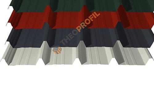 Λαμαρίνα τραπεζοειδής 5 Κορυφών - πολλά χρώματα - Theoprofil.com