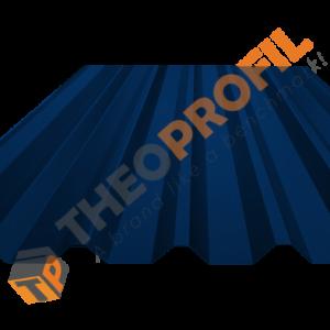 Λαμαρίνα τραπεζοειδής 8 κορυφών σε χρώμα RAL 5017 - Theoprofil.com