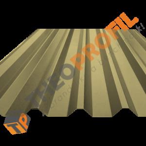 Λαμαρίνα τραπεζοειδής 8 κορυφών σε χρώμα RAL 1015 - Theoprofil.com