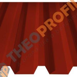 Λαμαρίνα τραπεζοειδής 5 Κορυφών Νέου Τύπου σε χρώμα RAL 3013 - Theoprofil.com