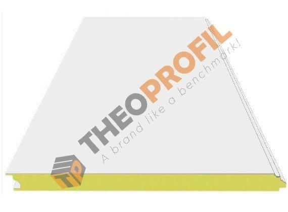 Λείο πάνελ πλαγιοκάλυψης - Theoprofil.com