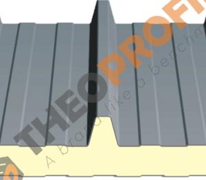 Πάνελ οροφής τραπεζοειδές - RAL 9002 - Theoprofil.com